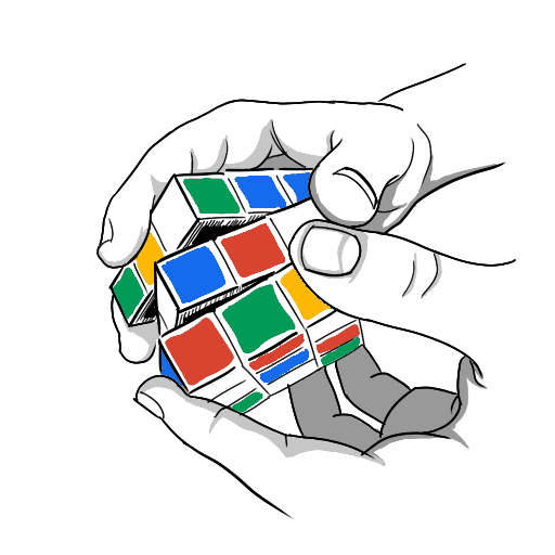 Rubik's Cube Drawing - new