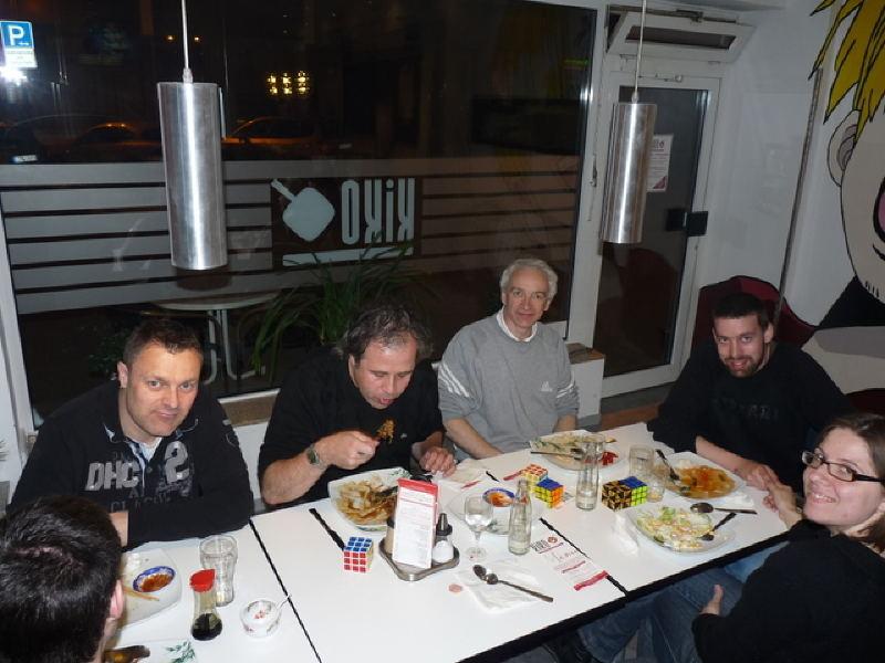 Clément Gallet, Ron, Francois, JLM, Olivér, Szárolta.
