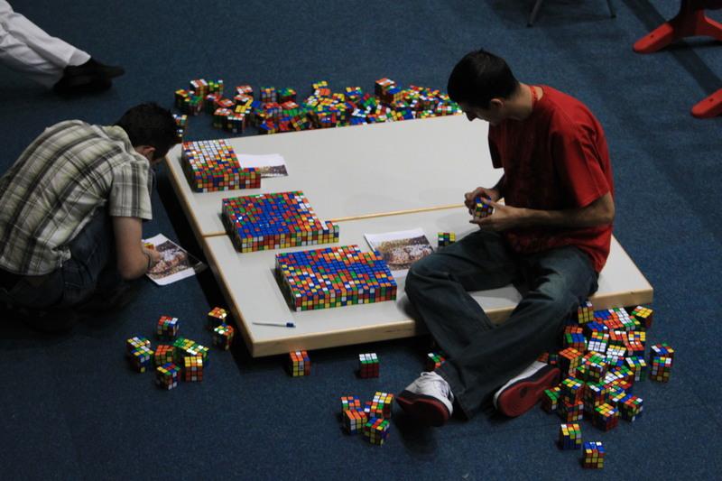 """Construind Mozaicul """"Joker"""""""