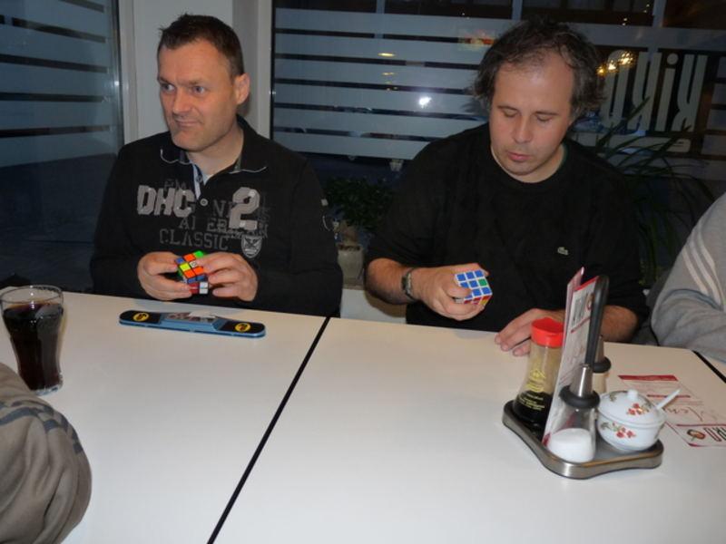 Ron van Bruchem și Francois Courtés