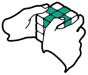 Hands Cube - cross