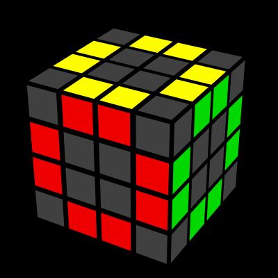 4x4x4 muchii rezolvate