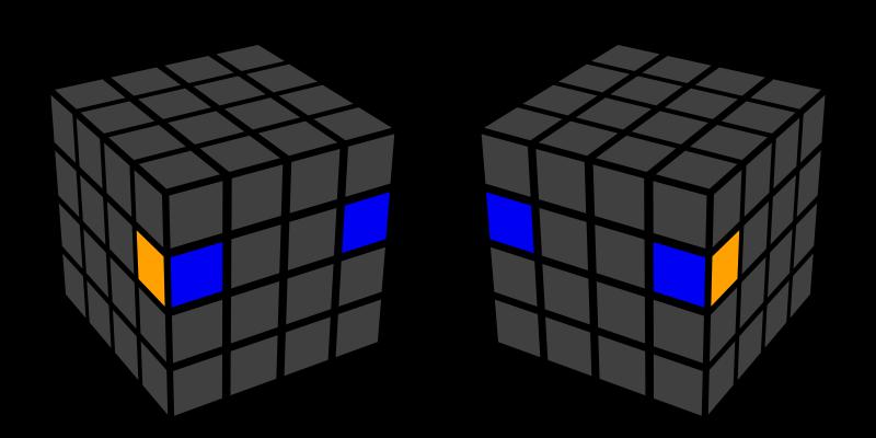 Muchii 4x4x4 - caz 2
