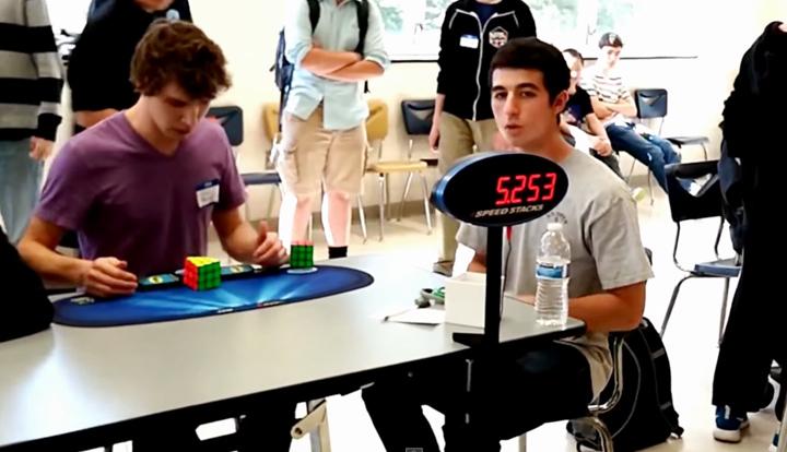 Collin-Burns-Break-World-Record-Rubik-Cube