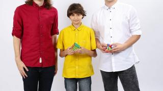 Speedcubing - Martin, Cristi, Flavian